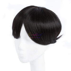 Natural Black Human Hair Toupee Replacement for Men - ICU SEXY