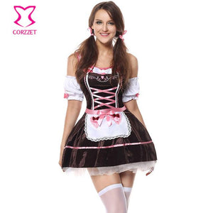 Oktoberfest Dress German Bavarian Beer Girl Costume - ICU SEXY