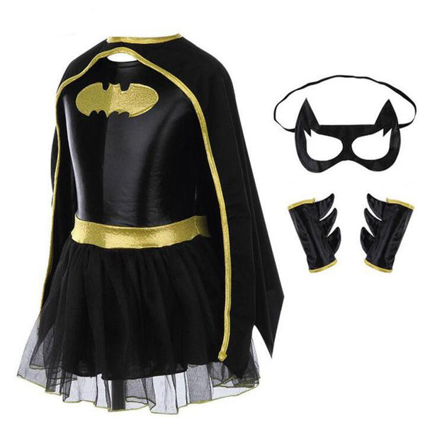 Women's Batman Costume Set Cosplay Clothing - icu-sexy
