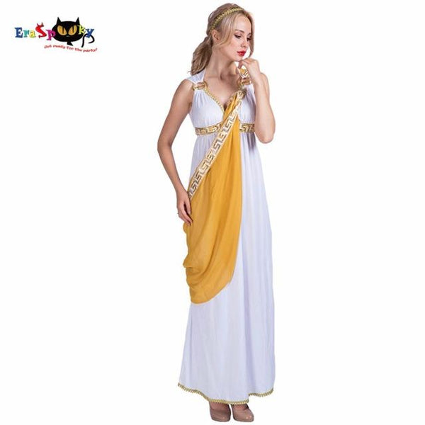 Greek Goddess Roman Lady Egyptian Costume - icu-sexy