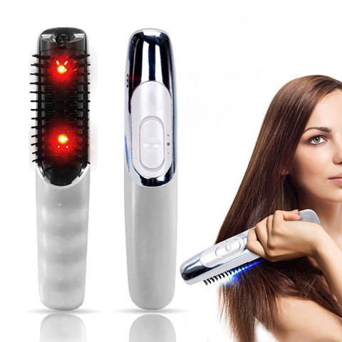 Infrared Ray Masassing Hair Growth Device - icu-sexy