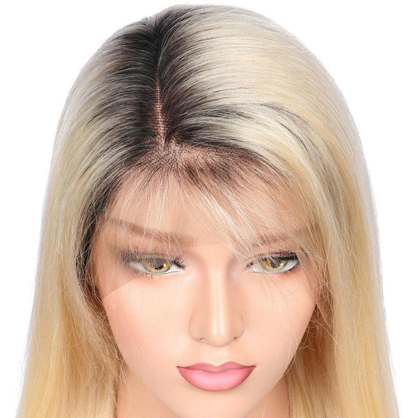 Glueless Full Lace Human Hair Wig with Baby Hair Pre Plucked Brazilian Remy Hair - icu-sexy