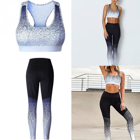 Women Summer Slim Fit Bodybuilding Tracksuit - icu-sexy