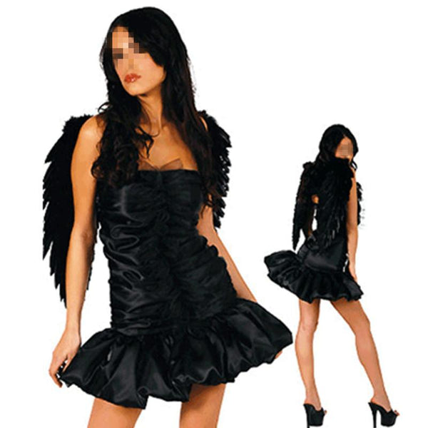 Women's Sexy Dark Angel Adult Halloween Cosplay - icu-sexy