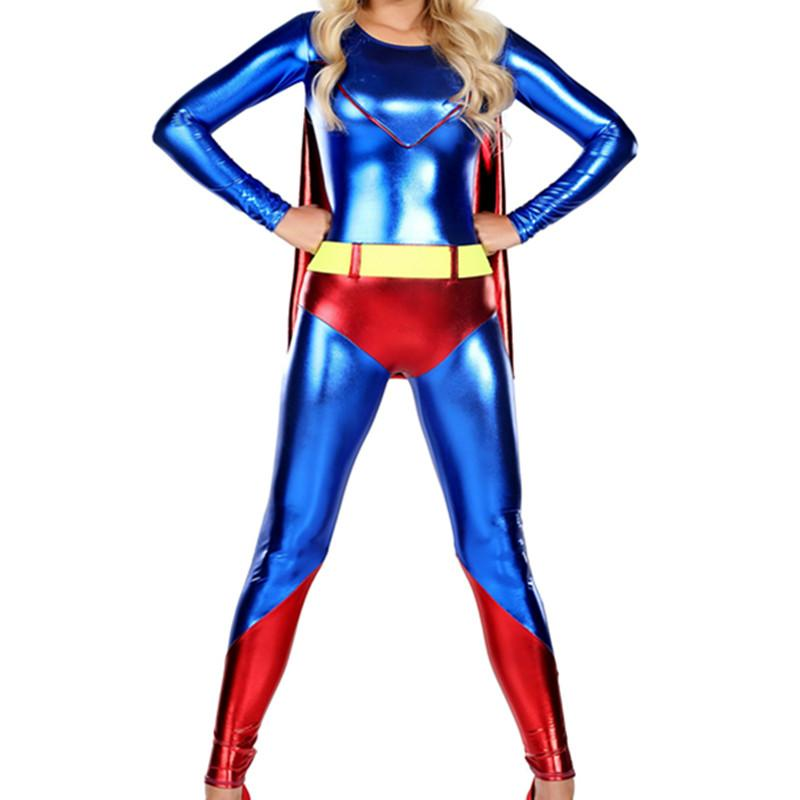New Style Cool Women's Fashion Superman Costume - ICU SEXY