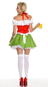 Women's Oktoberfest Beer Wench Costume - icu-sexy