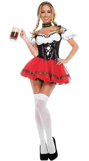 German Bavarian Oktoberfest Wench Costume - icu-sexy