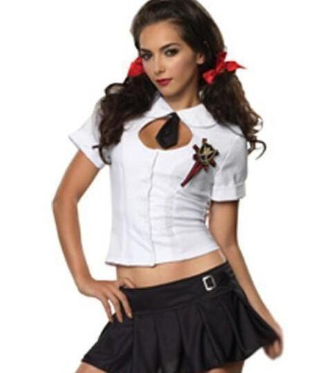 Temptation Sexy Student Costume for Women - icu-sexy