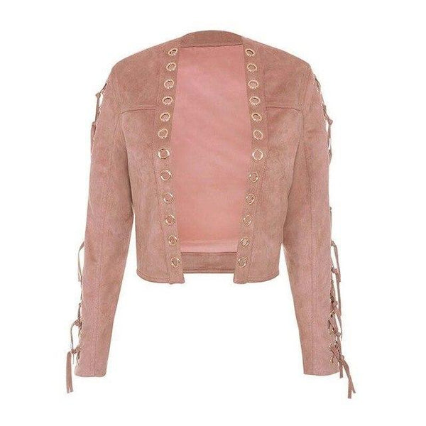 New Designer Fashion Pink Leather Jackets - ICU SEXY