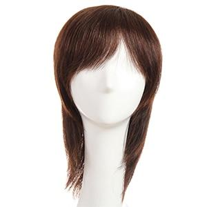 "Women's Short Layered Human Hair Wig NonRemy Indian Hair Wigs 8"" - ICU SEXY"