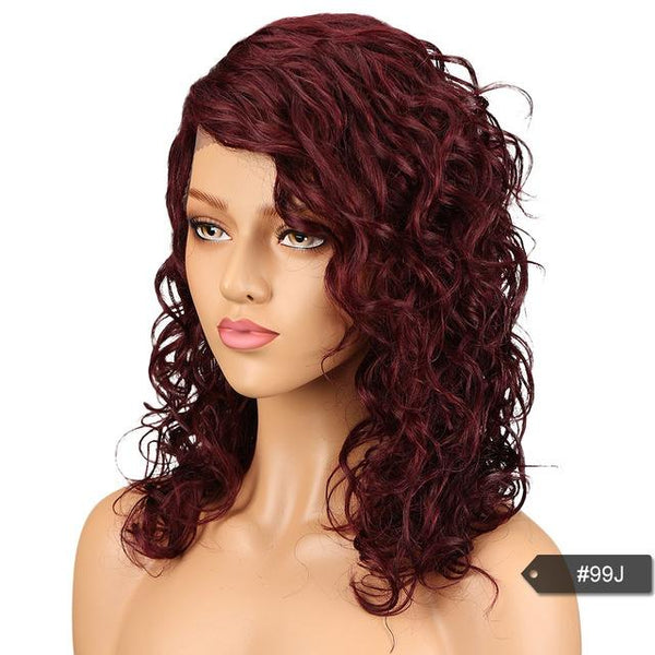 women's Trendy Sleek Lace Front Remy Hair Human Hair Wig in 7 Colors - ICU SEXY