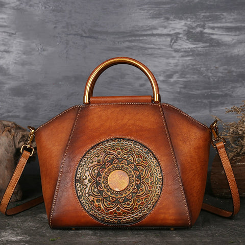 Women's Luxury Genuine Cow Leather Handbag - icu-sexy