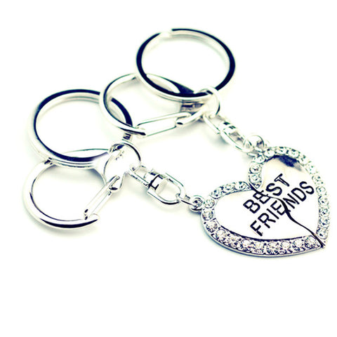 Adorable Best Friends Keychain