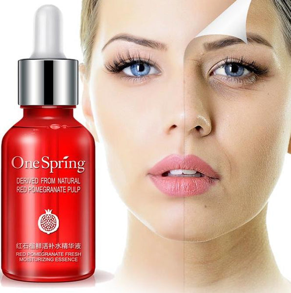 Hyaluronic acid Serum Red pomegranate Whitening, AntiAging, Anti Wrinkle  Pure Plant Extract - ICU SEXY