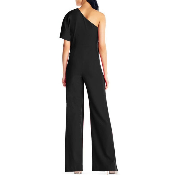 Off Shoulder Long Wide Leg Party Jumpsuit - ICU SEXY