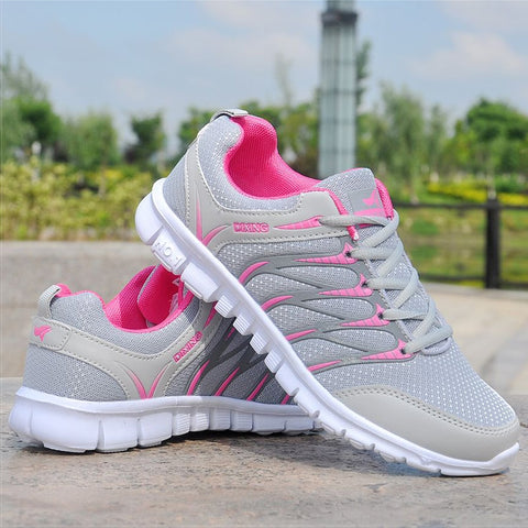 Women's Lightweight Breathable Air Mesh Sneakers - ICU SEXY