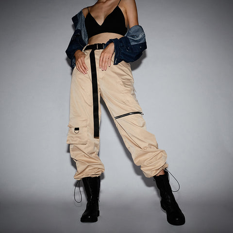 Women's New Style Khaki Pants High Waist Waist Pants - ICU SEXY
