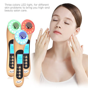 5 in One Ultrasound Vibration Massage LED Photon Skin Tightening Device - ICU SEXY