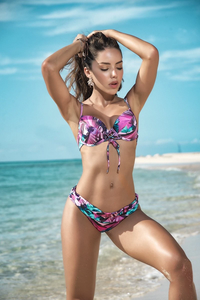 Women's Hot Floral Caribbean Style Two Piece Brand Fashion Swimsuit