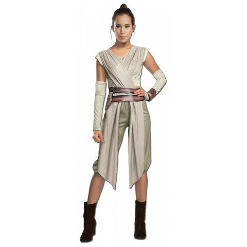 Rey Adult Star Wars Princess The Force Awakens  Costume Size Small