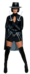 -Secret Wishes Women's Sexy V for Vendetta Deluxe Female Adult Costume Medium