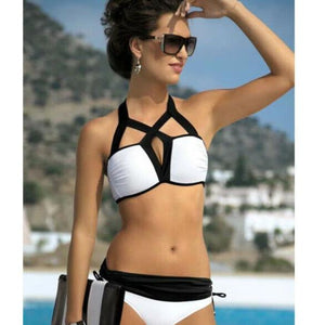 Summer Women Padded Wireless Bikini Set Two Piece Swimwear Swimsuit Beachwear US