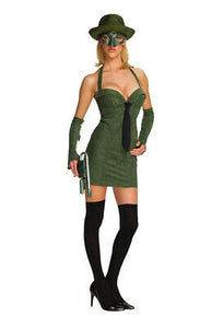 -Sexy The Green Hornet Secret Wishes Green Hornet Adult Halloween Costume