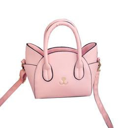 Women's Famous Designer Pink Luxury Cat In Bag Purse - icu-sexy