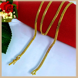 18K Real Gold Chain 22 inches