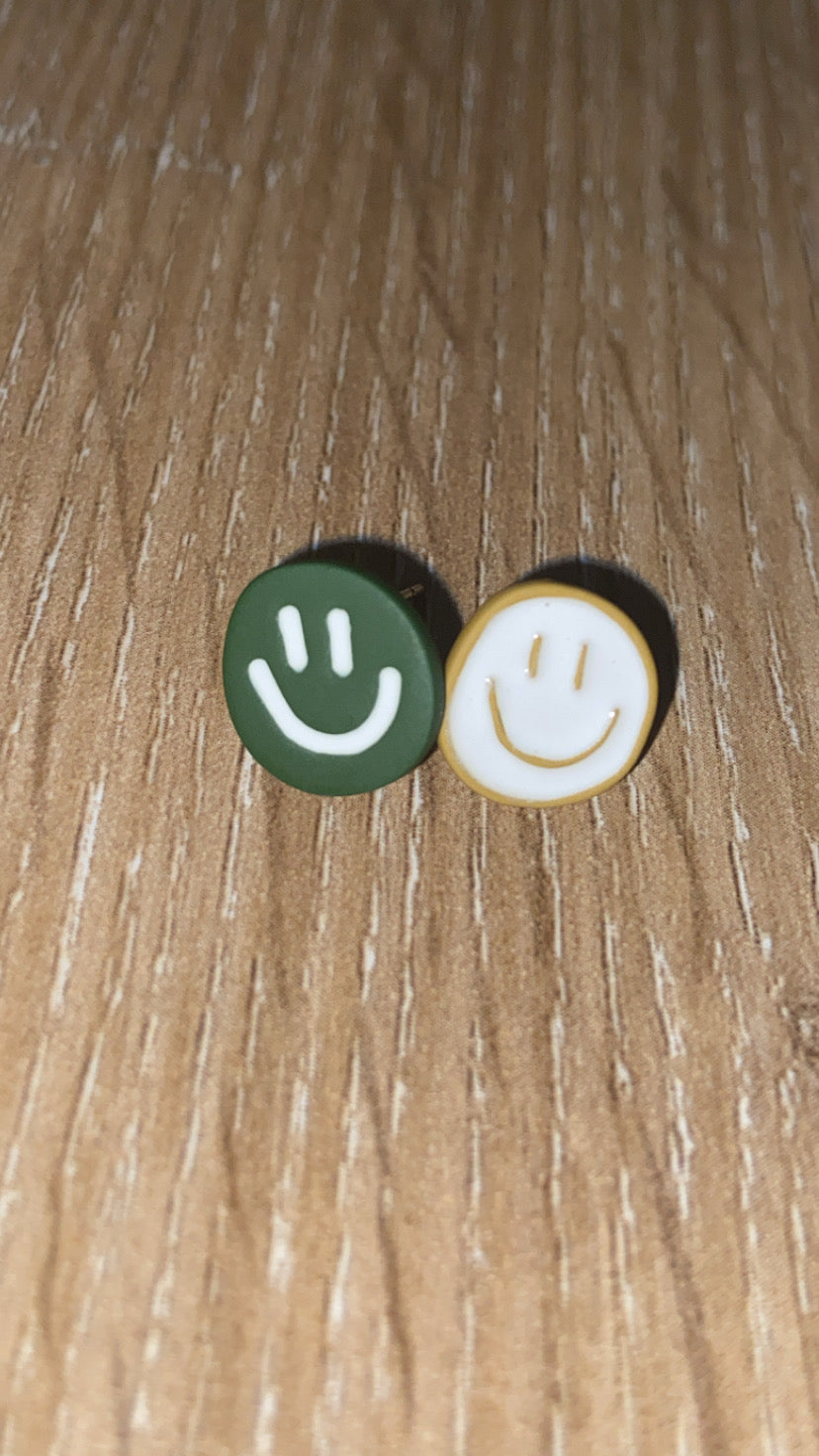 Irregular Smiley Studs