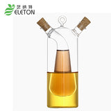 Kitchen supplies glass olive oil bottle