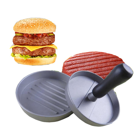 Round Shape Hamburger Press Aluminum Alloy