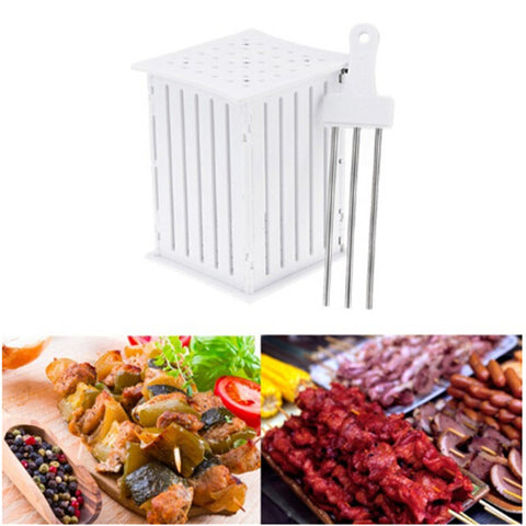 BBQ 36 Holes Meat Skewer Kebab Maker
