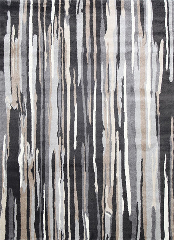 Matisse Vertical Stripes Dark Brown