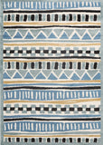 Tribal Blue Yellow