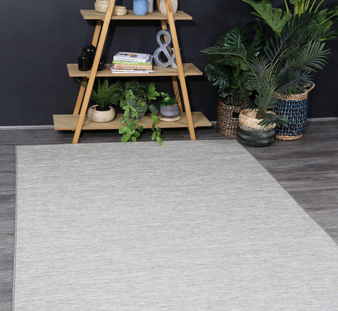 Sun Dance Reversible Indoor Outdoor Grey Blue Rug