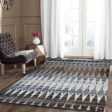 Melbourne Diamond Brown / Blue / Beige Rug