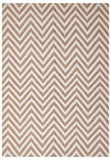 Abode Chevron Design Beige Rug - Cheapest Rugs Online - 1