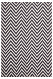 Abode Chevron Design Black Rug - Cheapest Rugs Online - 1