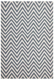 Abode Chevron Design Blue Rug - Cheapest Rugs Online - 1