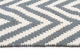 Abode Chevron Design Blue Rug - Cheapest Rugs Online - 3