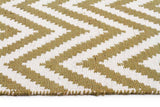 Abode Chevron Design Green Rug - Cheapest Rugs Online - 3