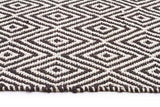 Abode Diamond Design Black Rug - Cheapest Rugs Online - 3