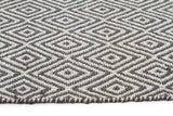 Abode Diamond Design Blue Rug - Cheapest Rugs Online - 3