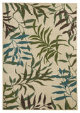 Alfresco Indoor Outdoor Collection 6502 Blue Green Rug