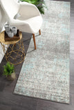 Aspect Riverside Sticks Blue Runner Rug