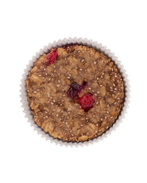 OatMEAL Cups Cranberry Orange + Chia