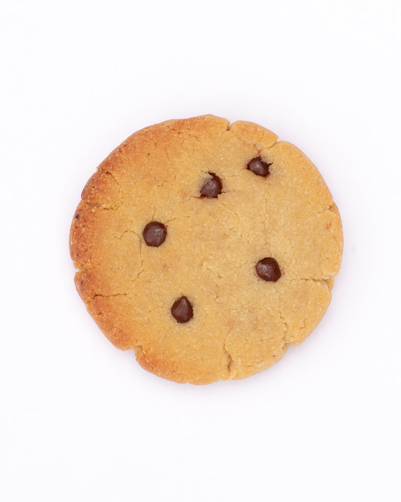 Chocolate Chip Cookies <br> Grain-free + Vegan