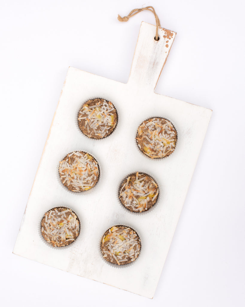 NEW <br> OatMEAL Cups Pineapple Coconut + Chia