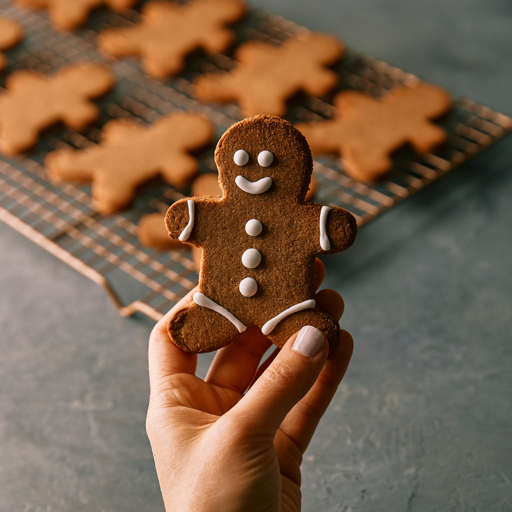 LIMITED EDITION: Paleo Vegan Gingerbread Cookies Holiday Gift Set